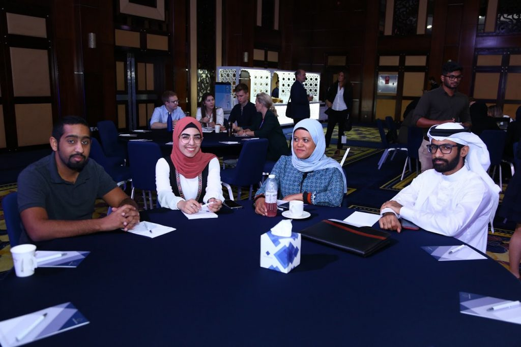 Representatives from UoB time during the qualification announcement ceremony